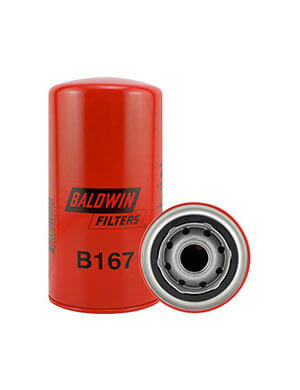 Baldwin B167 spin-on filter